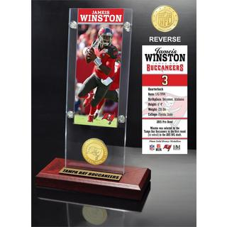 Jameis Winston Ticket & Bronze Coin Ticket Acrylic