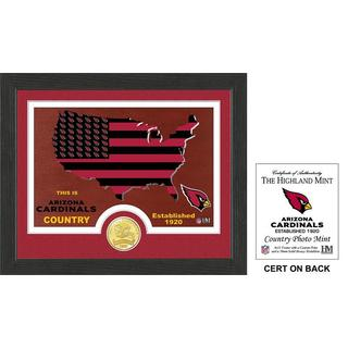 "Arizona Cardinals ""Country"" Bronze Coin Photo Mint"