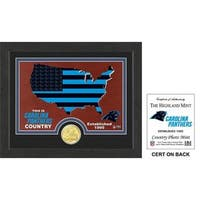 "Carolina Panthers ""Country"" Bronze Coin Photo Mint"