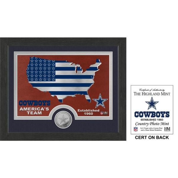 "Dallas Cowboys ""Country"" Minted Coin Photo Mint"