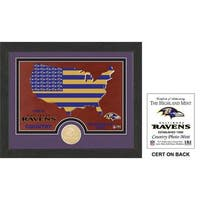 """Baltimore Ravens """"Country"""" Bronze Coin Photo Mint"""