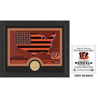 """Cincinnati Bengals """"Country"""" Bronze Coin Photo Mint"""