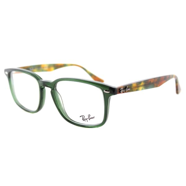 b64354841bb Shop Ray-Ban RX 5353 5630 Opal Green Plastic Square 52mm Eyeglasses - Free  Shipping Today - Overstock - 12187658