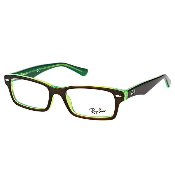 Green Eyeglass Frames Plastic : Ray-Ban RY 1530 3665 Brown On Fluorescent Green Plastic ...