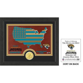 "Jacksonville Jaguars ""Country"" Bronze Coin Photo Mint"