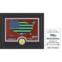 "Seattle Seahawks ""Country"" Bronze Coin Photo Mint"