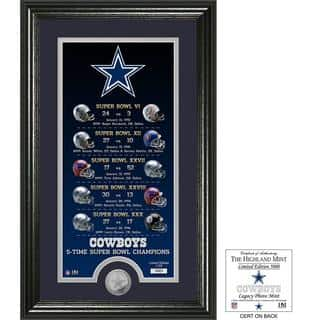 "Dallas Cowboys ""Legacy"" Minted Coin Photo Mint