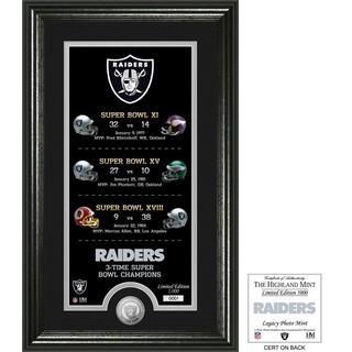 "Oakland Raiders ""Legacy"" Minted Coin Photo Mint"