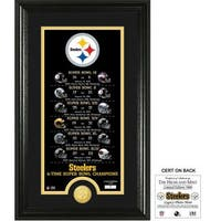 "Pittsburgh Steelers ""Legacy"" Bronze Coin Photo Mint - Multi-color"