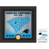 "Carolina Panthers ""State"" Bronze Coin Photo Mint"