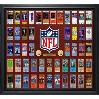 Super Bowl Ticket Collection Gold Coin Photo Mint
