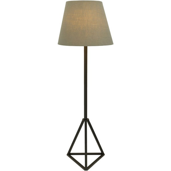 Chambery Floor Lamp with Painted Iron Base