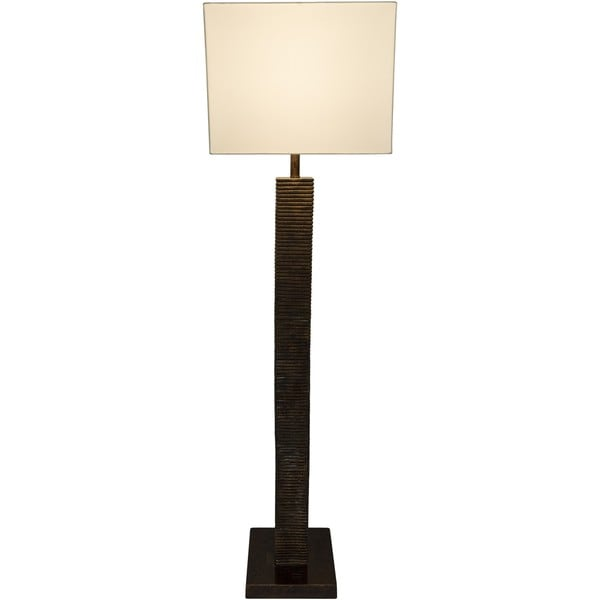 FortWorth Floor Lamp with Antique Resin Base