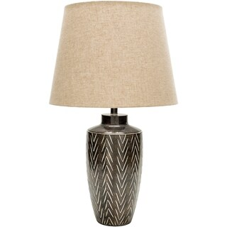 Baton Rouge Table Lamp with Painted Resin Base