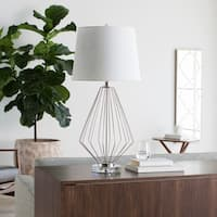 Cape Coral Table Lamp with Iron Base