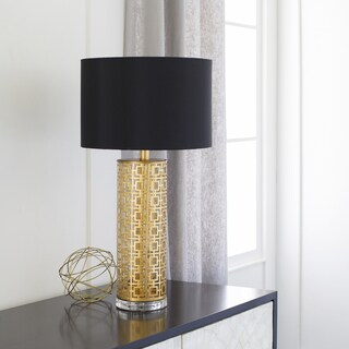 Cassadee Table Lamp with Painted Steel Base