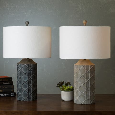 Buy cabin lodge table lamps online at overstock our best the gray barn red sky antique resin base table lamp aloadofball Images