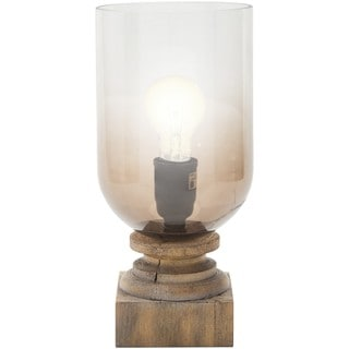 Cillian Table Lamp with Antique Resin Base