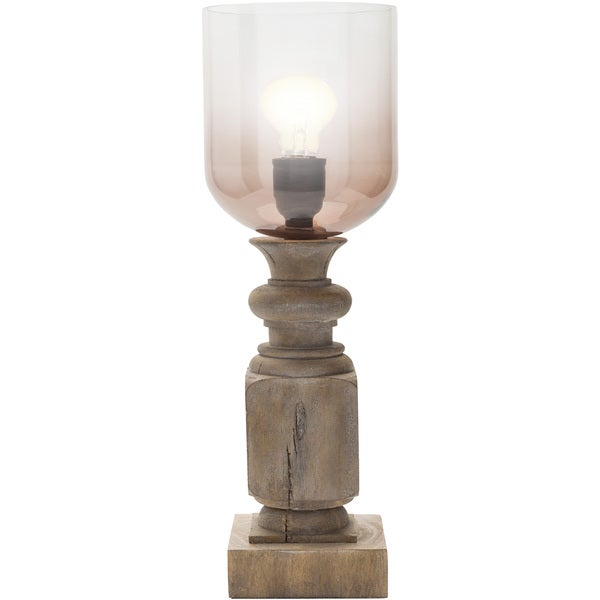 Clarita Table Lamp with Antique Resin Base