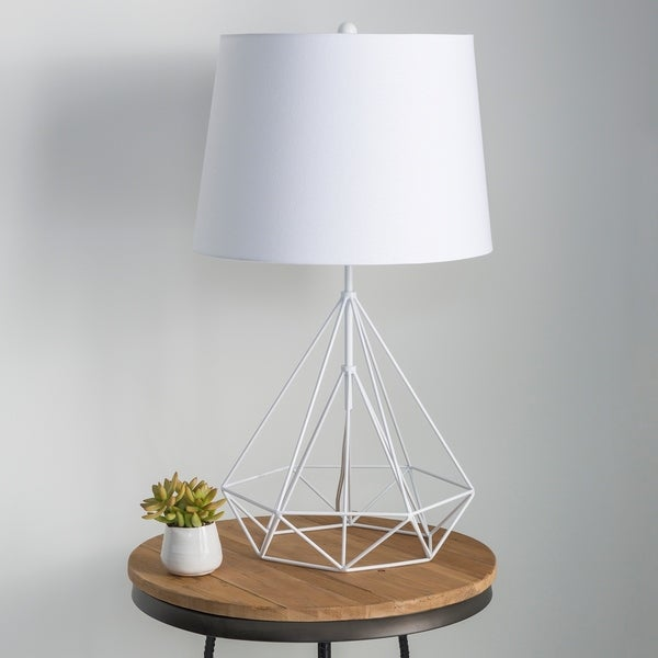 Denain Modern Table Lamp with Painted Iron Base