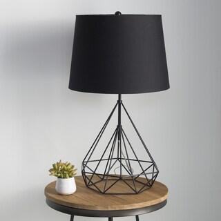 Denain Table Lamp with Painted Iron Base