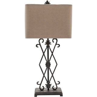 Dreketi Table Lamp with Painted Iron Base