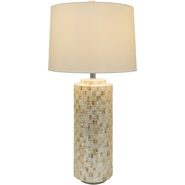 Elk Grove Table Lamp with Inlaid Mother of Pearl