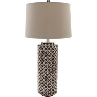 Elk Grove Table Lamp with Shell Finish MDF Base