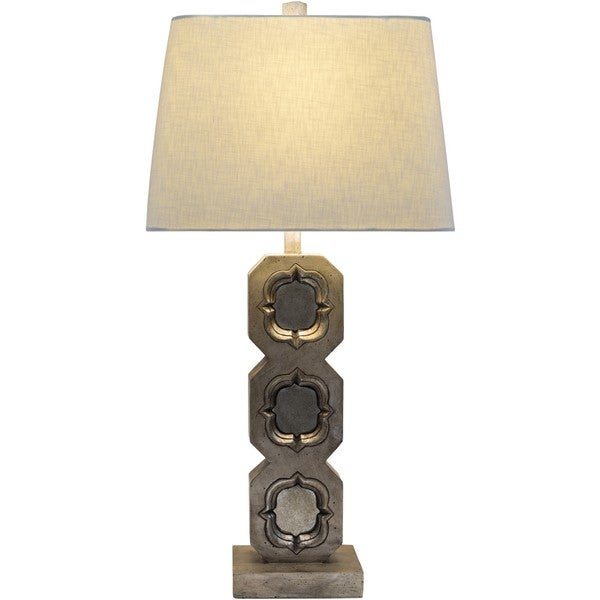 Fort Collins Table Lamp with Antique Resin Base