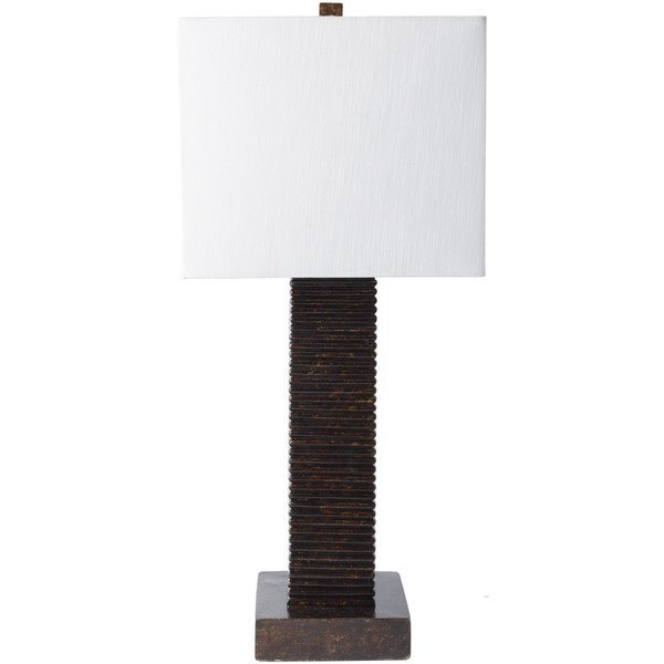 Fort Wayne Table Lamp with Antique Resin Base