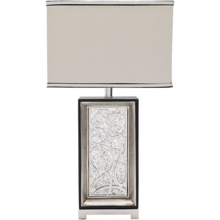 Forbach Table Lamp with Antique Resin Base