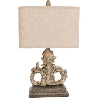 Fort Lauderdale Table Lamp with Painted Resin Base
