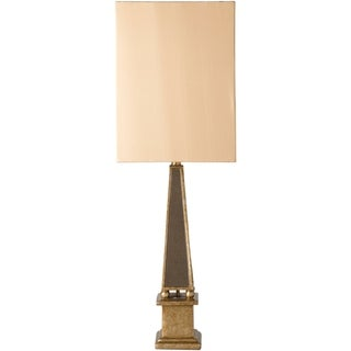 Geneva Table Lamp with Antique Glass Base