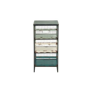 Wood/Iron 15-inch x 32-inch Storage Rack