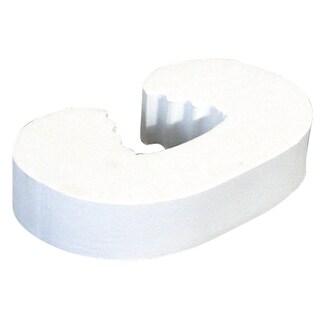 Prime Line S4560 White Foam Finger Saver Door Blocker