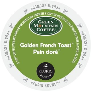 Green Mountain K-Cup Portion Pack for Keurig Brewers Golden French Toast Coffee