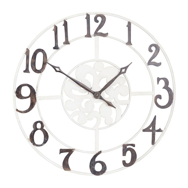 Household Essentials Large Numbers Wall Clock. Opens flyout.