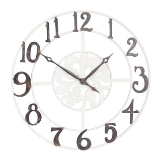 Etonnant Household Essentials Large Numbers Wall Clock