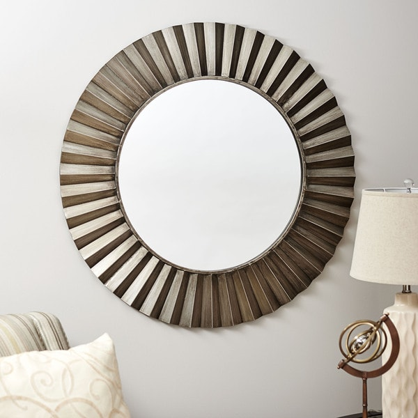 Household Essentials Bronze Sunburst Wall Mirror On Free Shipping Today 12187913