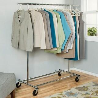 Richards Homewares Chrome Commercial Garment Rack