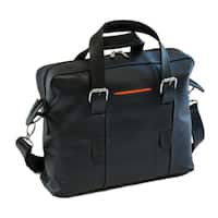 Piel Leather Small Carry-on Brief Messenger Bag