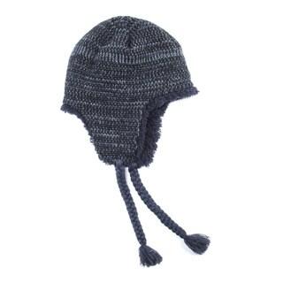 Muk Luks Men's Acrylic/ Polyester Furpa Marled Helmet