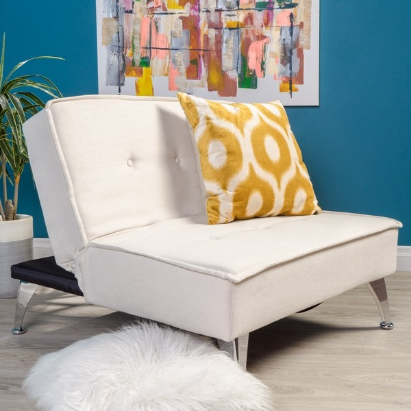 Convertible Ottoman Chair Costco: Shop Gemma Fabric Oversized Convertible Ottoman Chair By