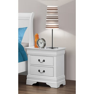 Coaster Company White Nightstand