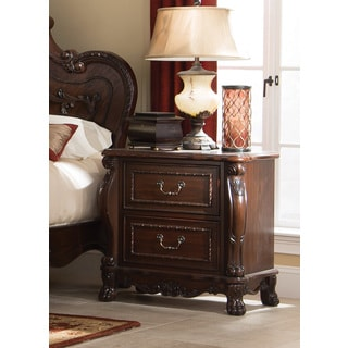 Coaster Company Traditional Cherry Finish Wooden Nightstand