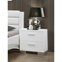 Coaster Company Home Furnishings Night Stand, Glossy White