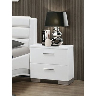 Felicity Contemporary Two Drawer Nightstand