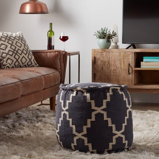 Arabesque Round Pouf (India)
