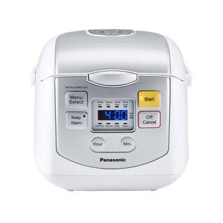Panasonic 4-Cup Mircocomputer Rice Cooker White