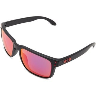 Oakley Holbrook Matte Black With Positive Red Iridium Lens Sunglasses